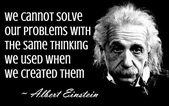 einstein- we cannot solve....jpg
